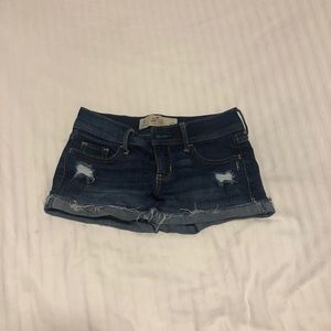 Hollister Distressed/ Ripped Shorts